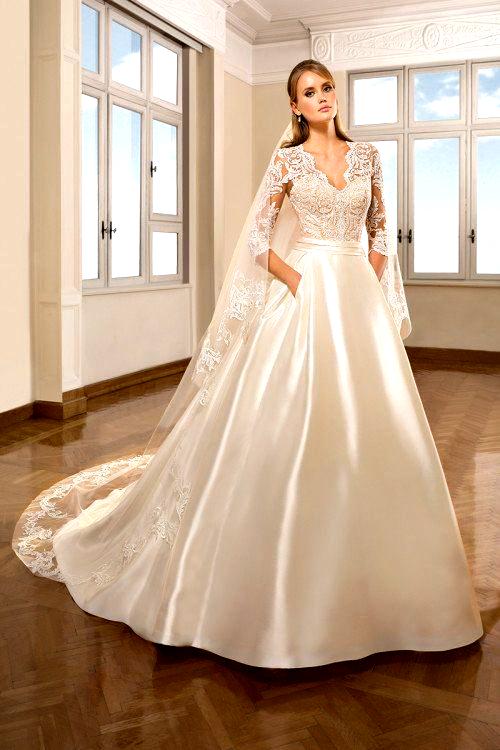 Photo of Royal-inspired wedding dress idea – ball gown wedding dress …