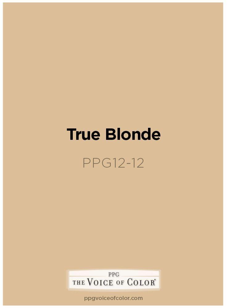 Image Result For Ppg True Blonde Paint Exterior Beige