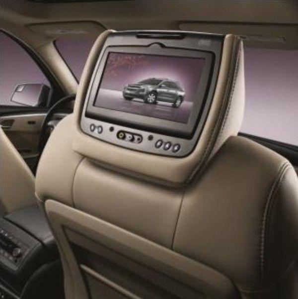 2015 Acadia Dvd Headrest System Titanium Leather Chevy Trucks
