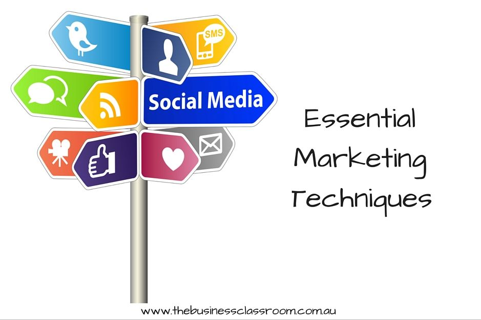 Essential Marketing Techniques - Anyone who has seen an episode of Mad Men will know that marketing has changed in the past couple of decades.