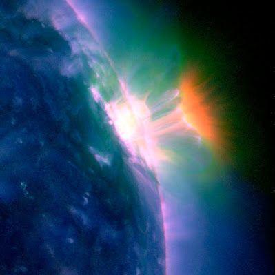 Solar hot loop from AR11429