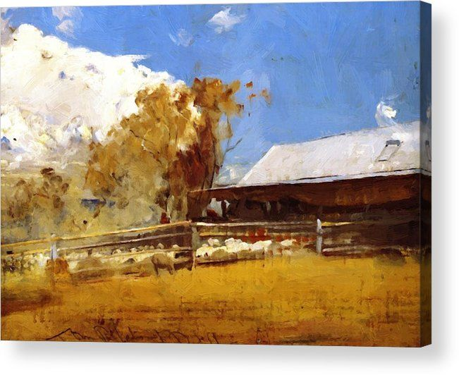 Fade Resistant HD Art Print or Canvas The Golden Fleece 1894 Tom Roberts
