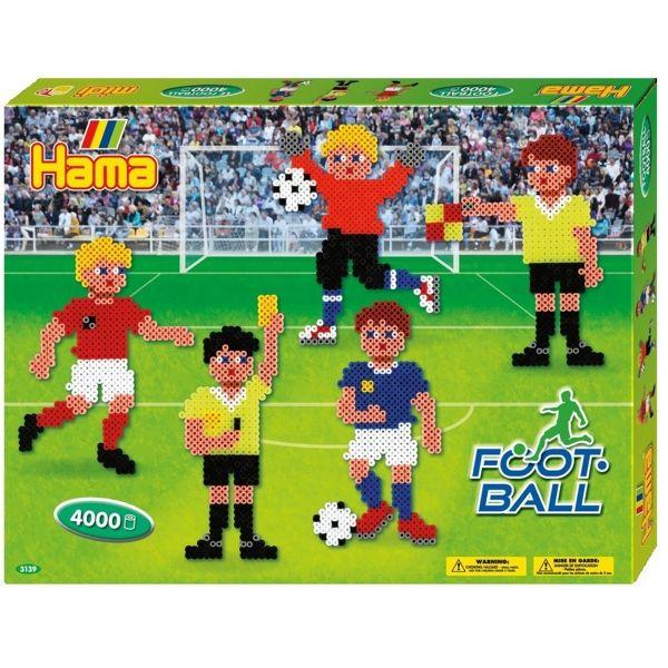 Football Large Gift Set 3139 Hama Beads Euros 2016 European