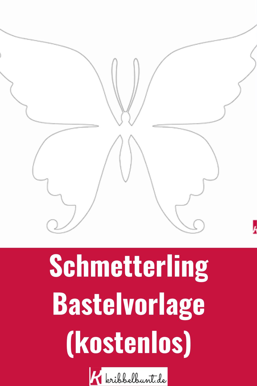 Schmetterling Bastelvorlage Zum Ausdrucken Fur Kinder Bastelvorlagen Zum Ausdrucken Schmetterling Vorlage Vorlagen