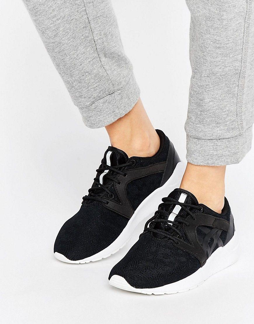 b8c3582a6000 ASICS MESH GEL-LYTE KOMACHI SNEAKERS IN BLACK - BLACK.  asics  shoes ...