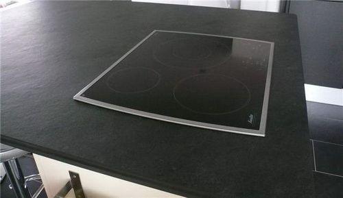 plan de travail ardoise naturelle 180x65x3 deco Pinterest - installation plan de travail cuisine