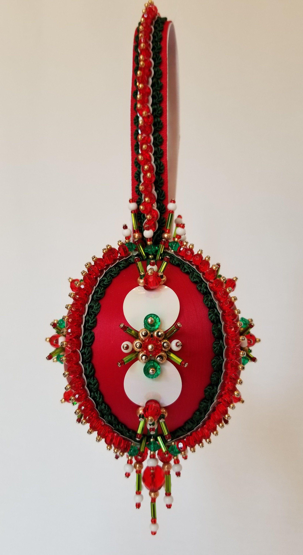 Beaded Christmas Ornament Kit Night Before Etsy Ornament Kit Beaded Christmas Ornaments Ornaments