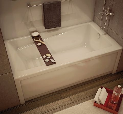 Maax 60x32x19 Bathtub W/ Right Hand Drain, 105456-R-000-001 ...