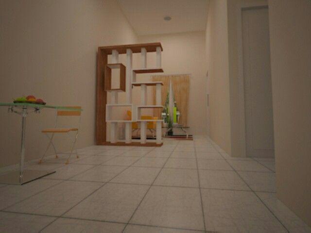 Penataan Interior Rumah Type.36 | Interior, Interior rumah ...