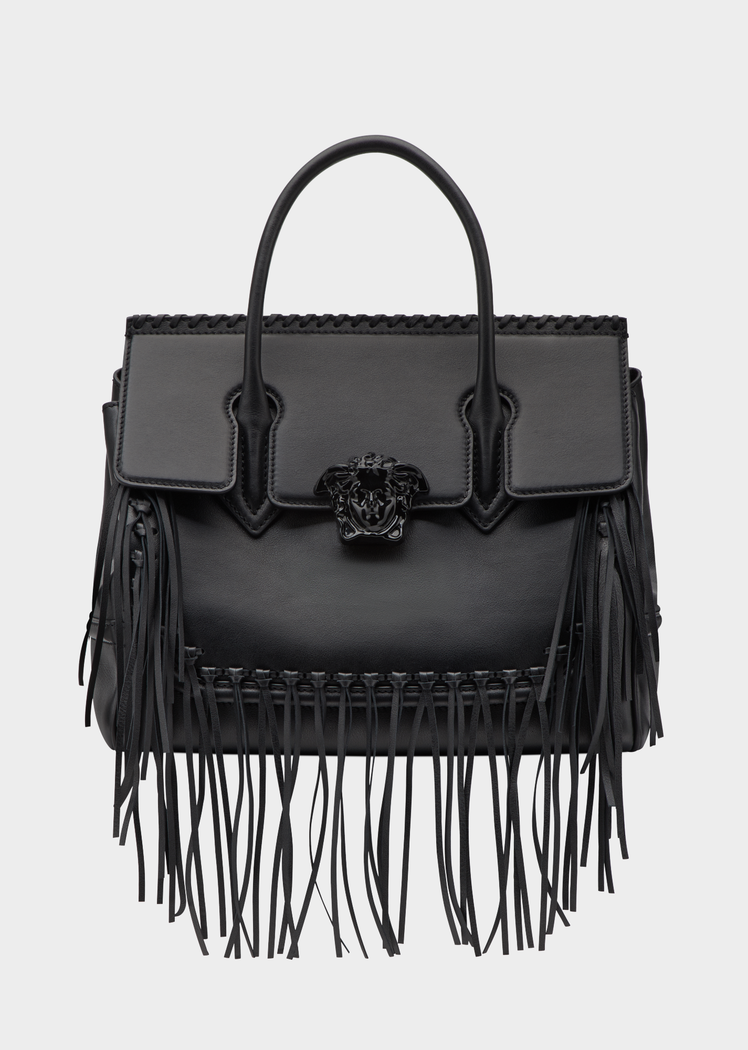 Versace Fringe Palazzo Empire Bag for Women | Official Website