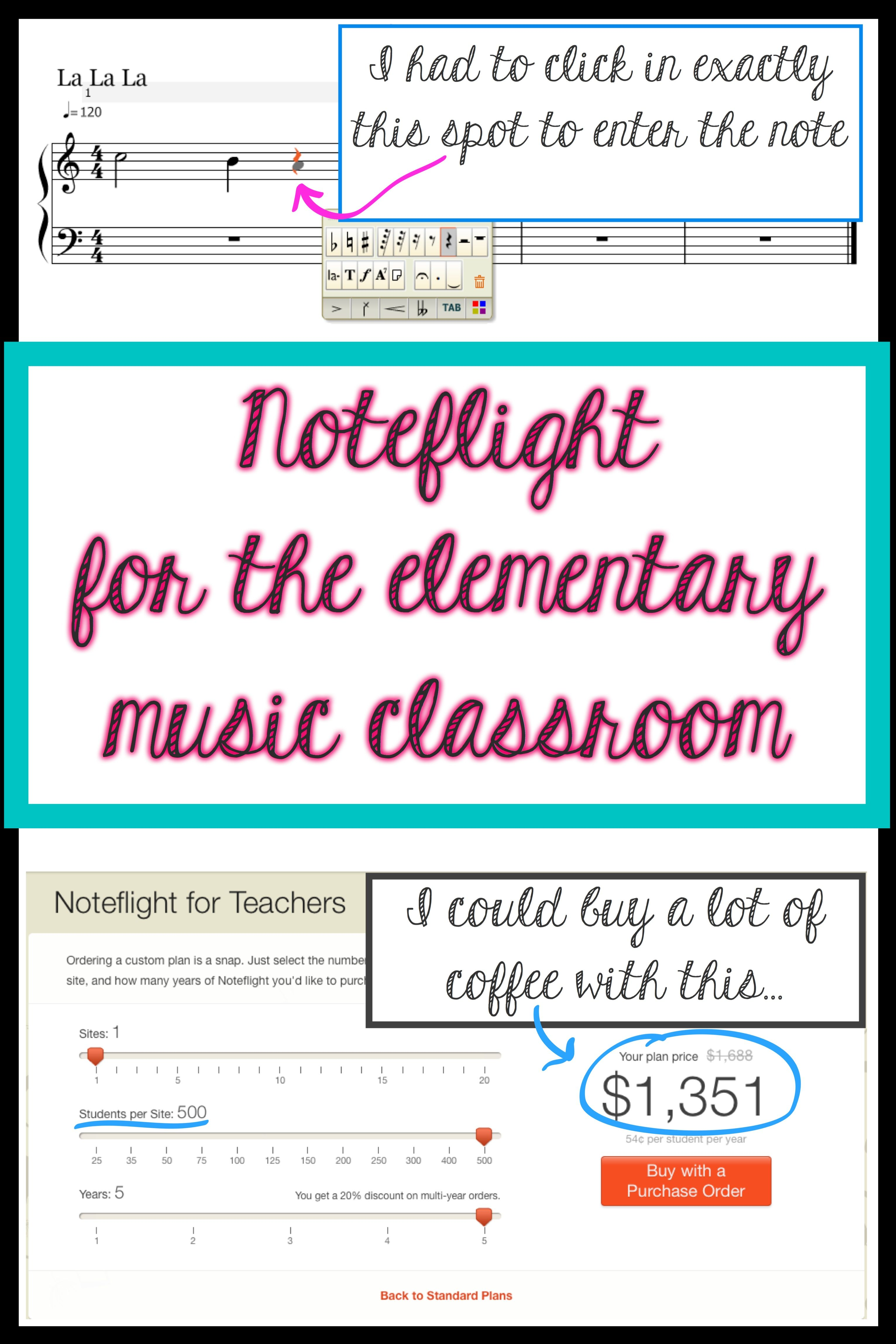 A Browser Based Music Notation App For Teachers And
