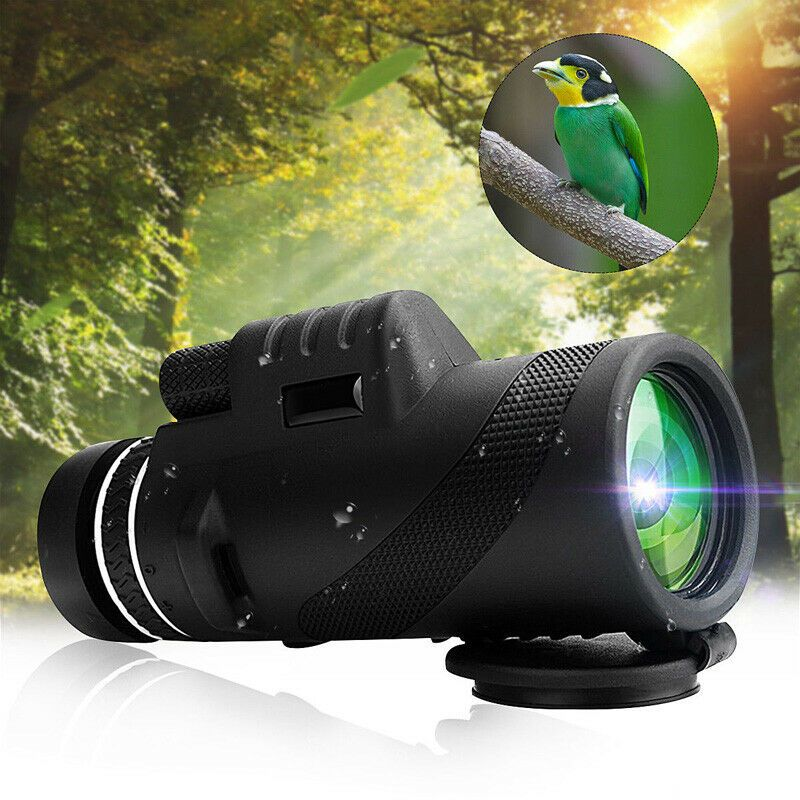 40x60 HD Tag /& Nacht Vision  Dual Focus Optics Monokular Teleskop Wasserdich