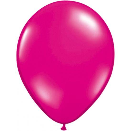 Ballonnetjes magenta 50 stuks  Ballonnen magenta roze 50 stuks. Deze magenta ballonnen kunnen zowel met lucht als met helium worden gevuld en hebben een formaat van ongeveer 30 cm. De magenta ballonnen zijn verpakt per 50 stuks.  EUR 8.95  Meer informatie