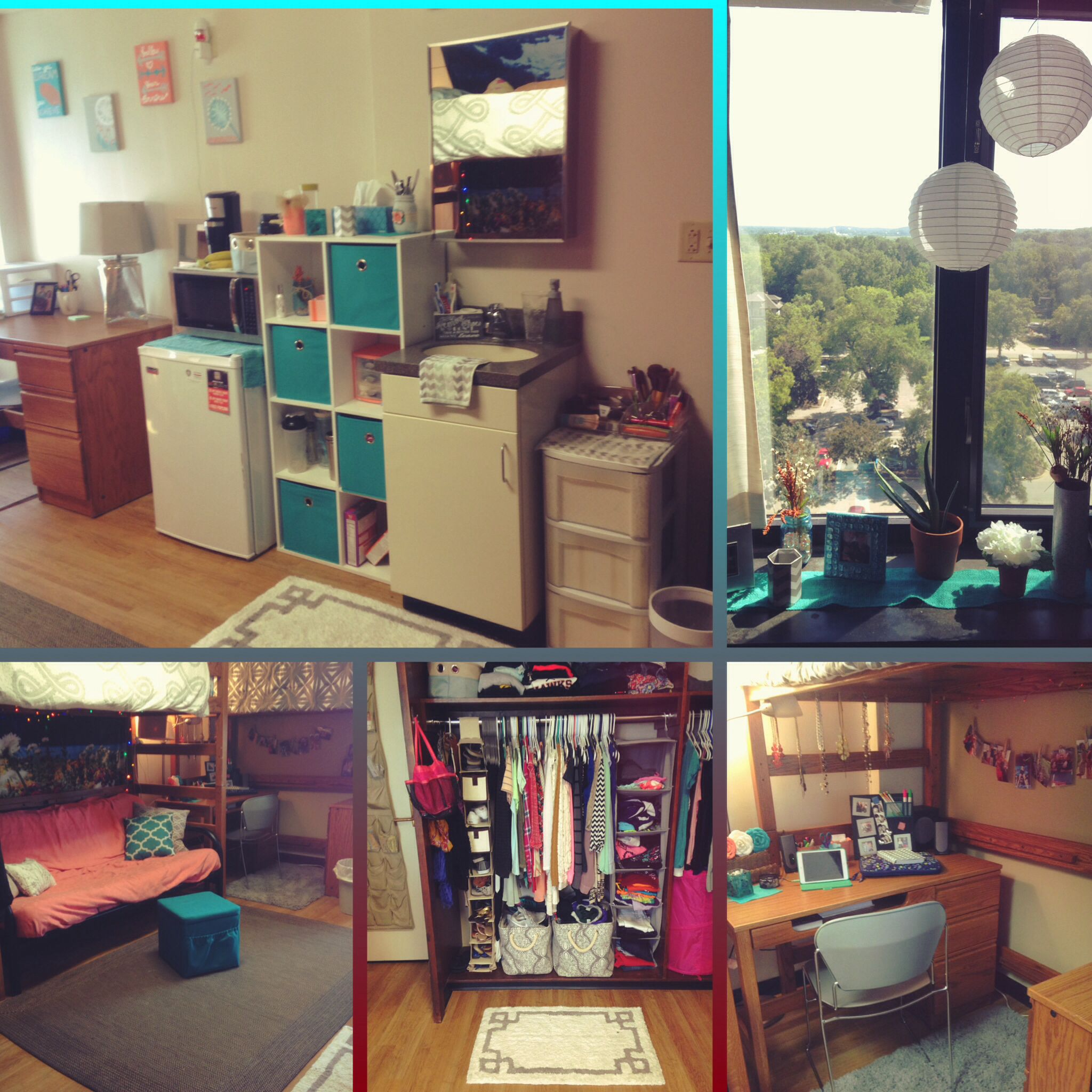 Captivating University Of Iowa Slater Hall Cute Dorm Room! Part 12