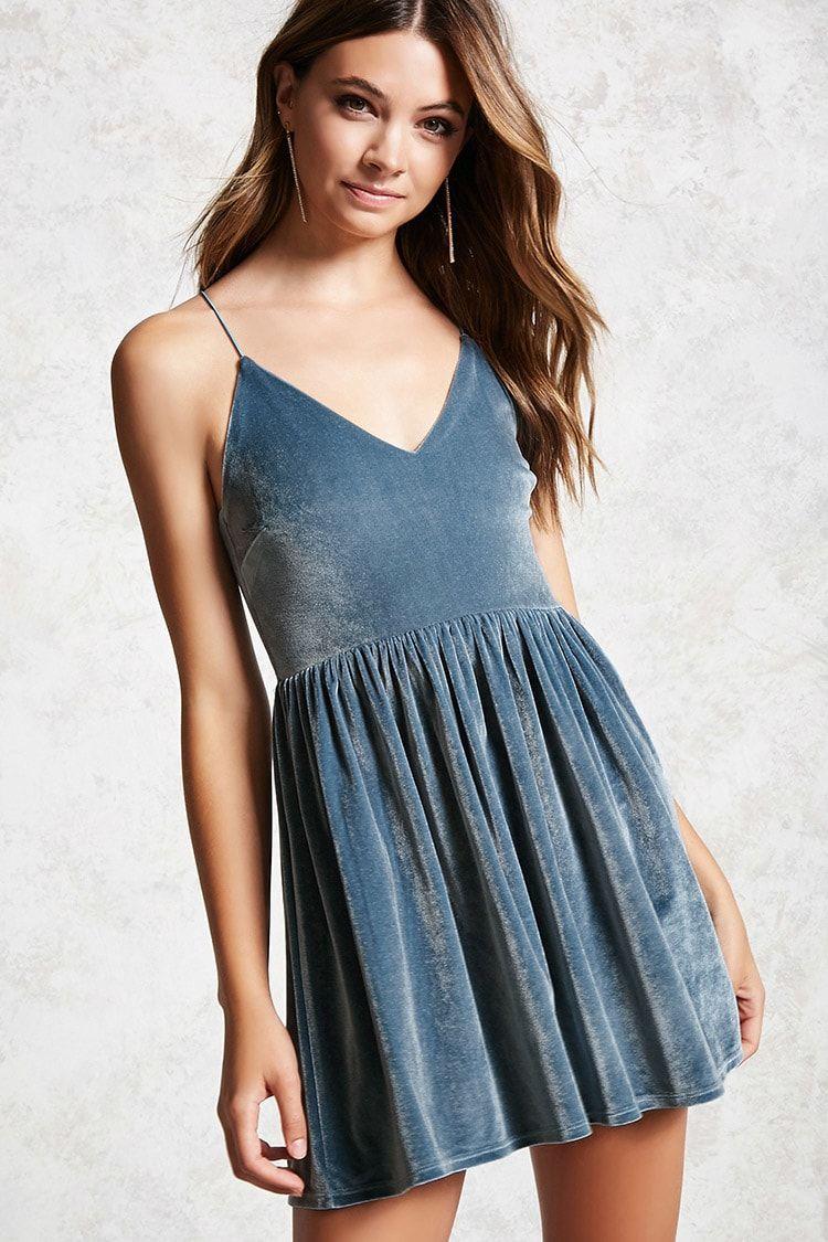 Velvet Cami Dress | Forever 21 | Pinterest | Hottest models, 21st ...