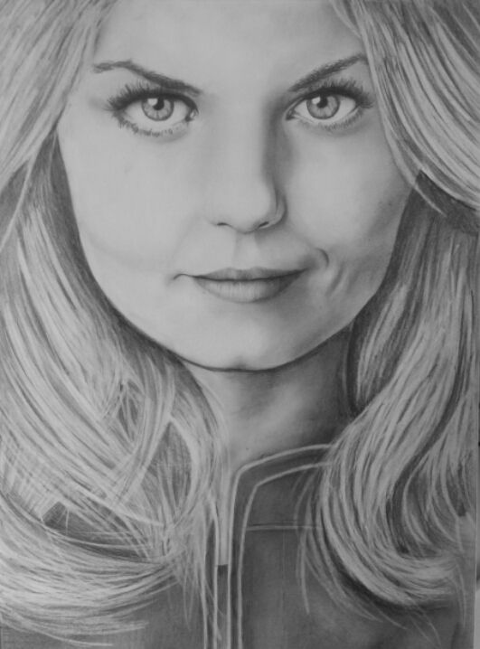 Emma Swan Once Upon A Time Drawing By Onceuponatime221b On