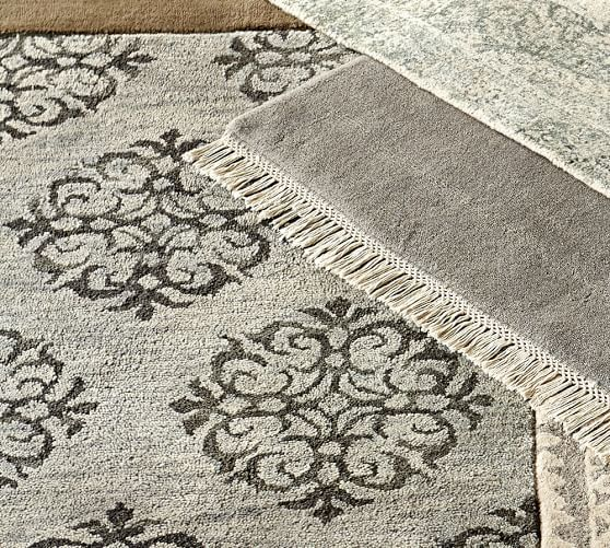 Empire Scroll Rug Gray Dining Room Grey Rugs Rugs