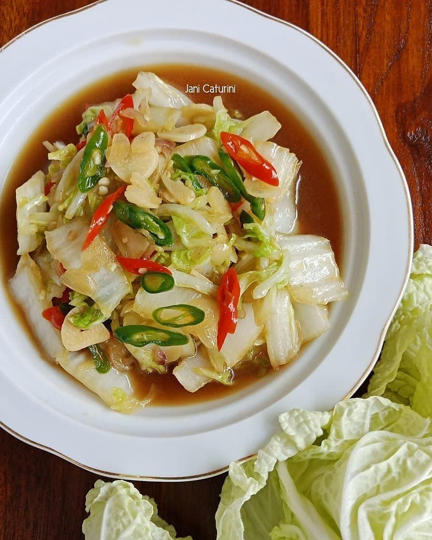 Resep Sayur Sawi C 2020 Brilio Net Di 2020 Resep Masakan Sehat Masakan Vegetarian Resep Makanan Sehat