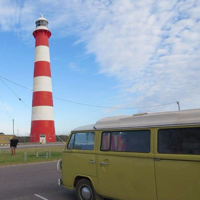 Where's Wally?  #geraldton #lighthouse #kombi #kombis #kombivan #kombilove #kombitrip #westcoast #wa #wanderlust #adventure #explore #travel #t2 #australia by my.year.in.a.kombi