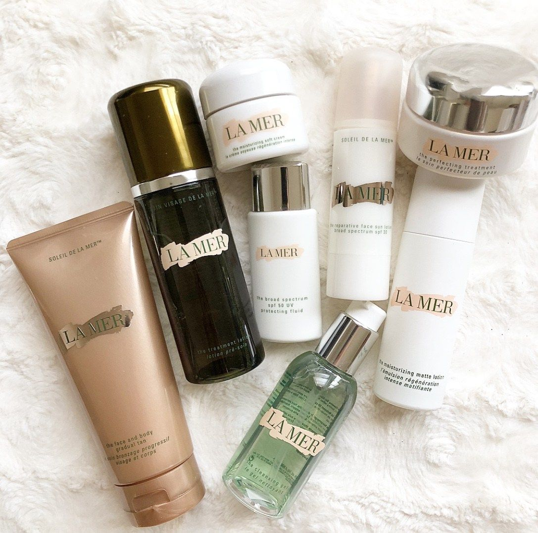My La Mer Favorites Occasionally Luxe Skin Care Cream Best Makeup Products Luxury Skincare
