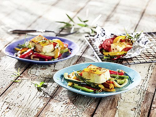 Feta Gemüse-Päckchen vom Grill (Rezept mit Bild) | Chefkoch.de