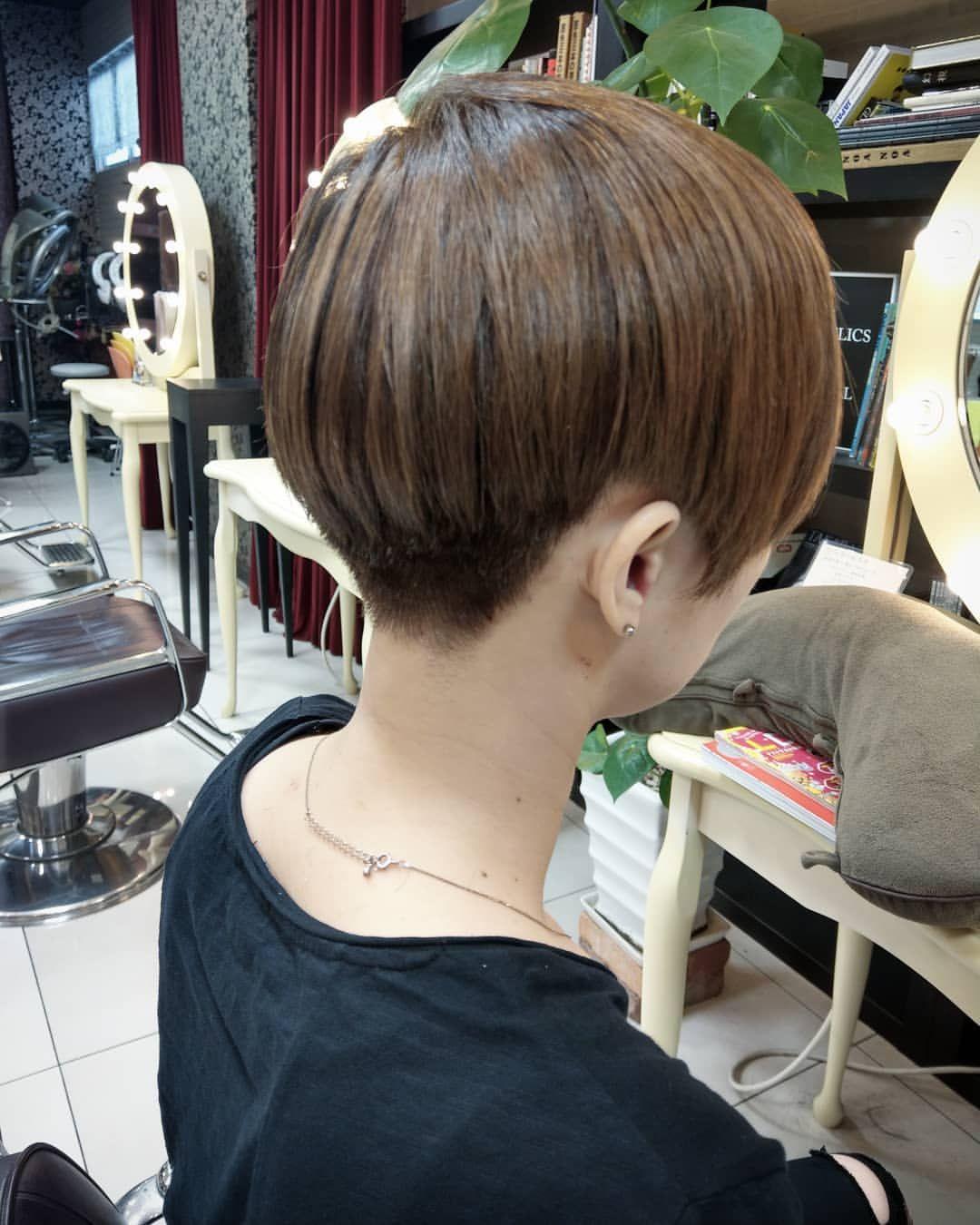 Ono Ayakaさんはinstagramを利用しています 刈り上げ女子