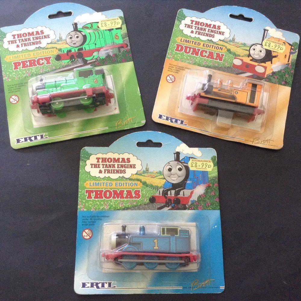 thomas the tank engine friends limited editions ertl britt all rh pinterest com