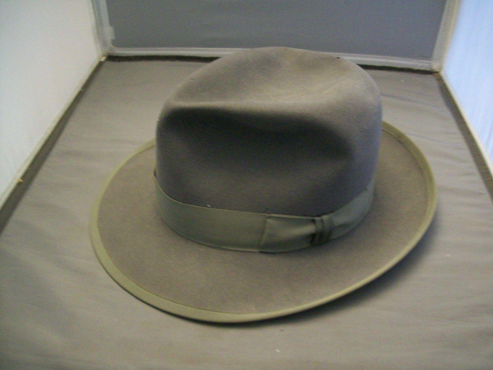 655656d6 VINTAGE JOHN B. Statson Royal Stetson Whippet Gray Fedora Hat - $139.99    PicClick