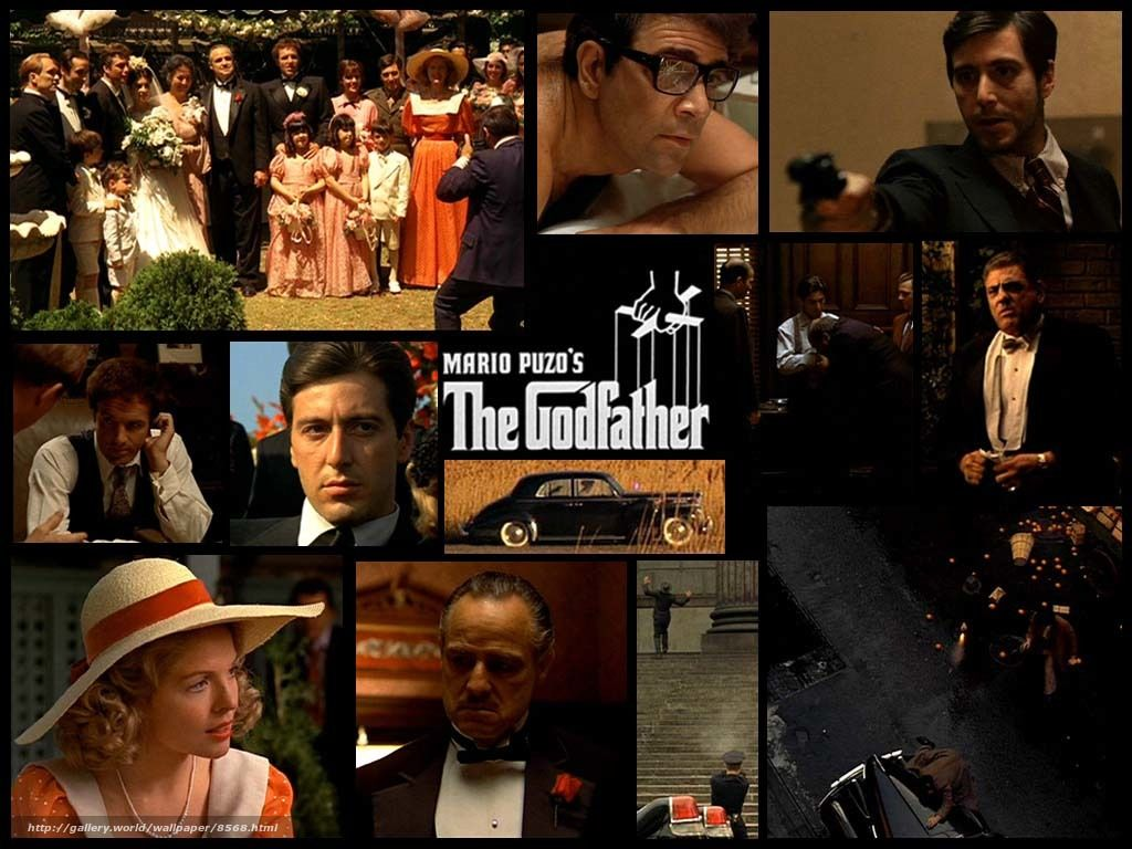 Download wallpaper Godfather, The Godfather, film, movies