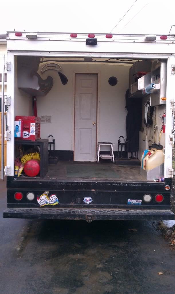 Just Signed On 97 E450 Custom Box Truck Truck Camper Trucks Camper