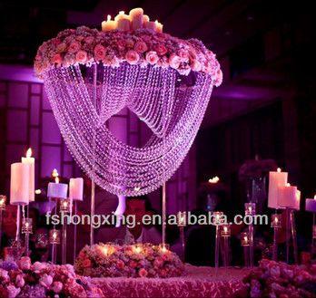 Latest crystal wedding centerpieceswedding flower standwedding latest crystal wedding centerpieceswedding flower standwedding decoration table centerpiece view junglespirit Choice Image