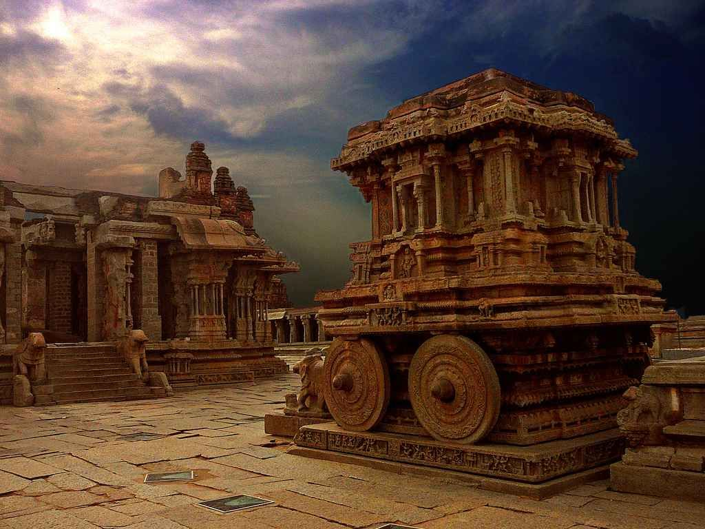 Vitthala Temple Hampi Ancient India S Wallpaper Art