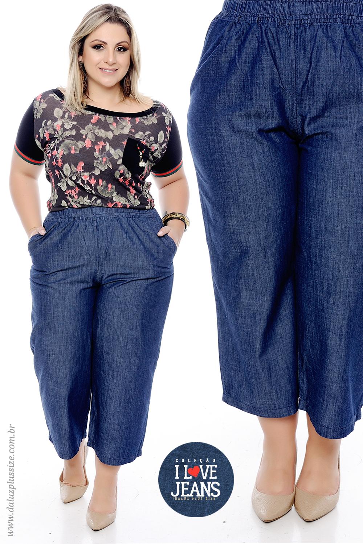 1b8f80e1f4 Calça Jeans Plus Size - Alto Verão 2018 - www.daluzplussize.com.br ...