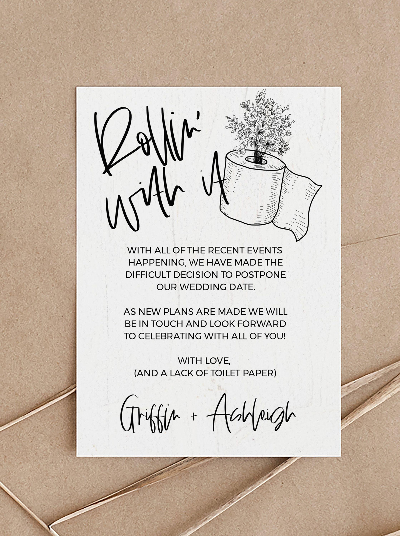 13++ Wedding cancellation cards etsy ideas