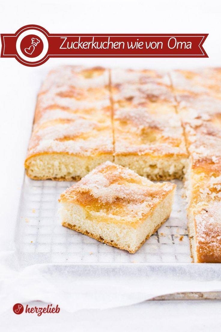 Zuckerkuchen Rezept - Omas Klassiker vom Blech!