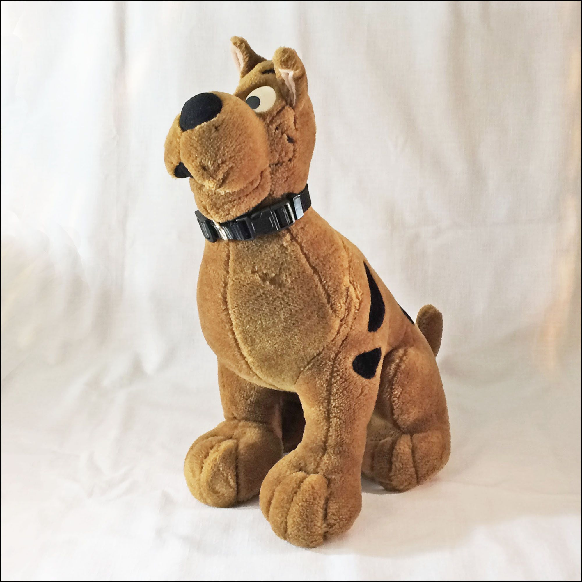 This Large Vintage Stuffed Animal Scooby Doo Measures About 8