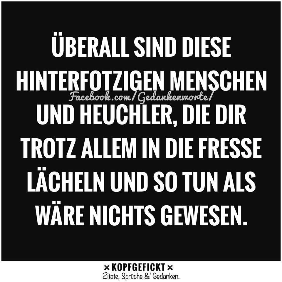 Heuchler | Sprüche | True words und Words