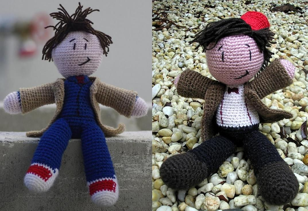 Doctor Who: Free crochet patterns