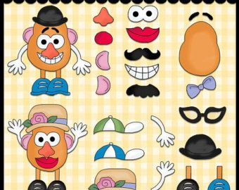 photo relating to Mr Potato Head Parts Printable called Graphic consequence for mr potato thoughts components printable Mr. Potato