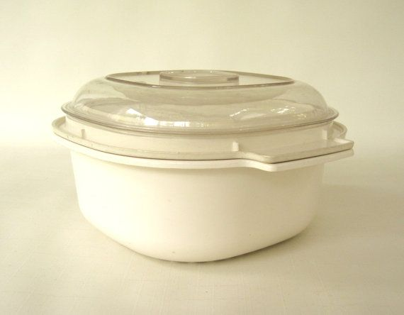 Rubbermaid Microwave Cookware Dish Pieces 5555 by LaurasLastDitch ...