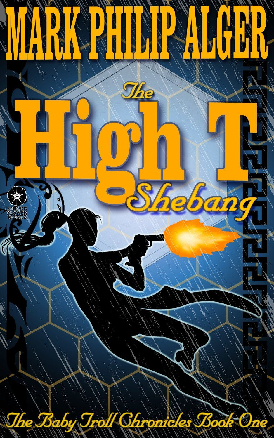 http://www.amazon.com/High-Shebang-Baby-Troll-Chronicles-ebook/dp/B00G3T42KG/ref=sr_1_1?ie=UTF8 My book. My first. Not my last. It is the opener to a series featuring a made being -- Dolly -- and Gods and Trolls and Elves and Brownies, and techno-mages, and an oddly skewed version of our world and its history. And action, adventure, romance, intrigue, and all the rest. Read it. You'll like it.