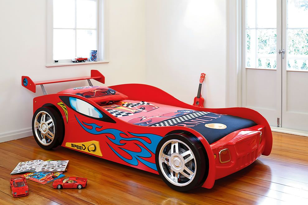 Z1 Car Bed Frame with Lights by Nero Furniture from Harvey Norman ...
