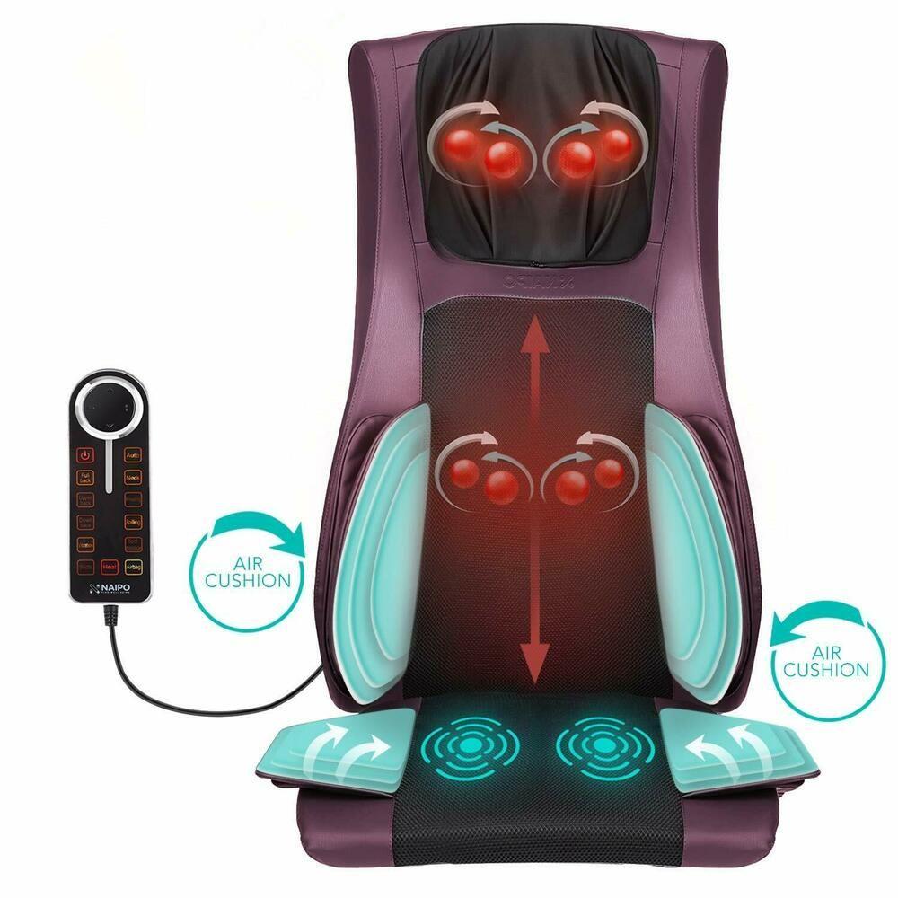 Back massager massage chair full body deep tissue massage