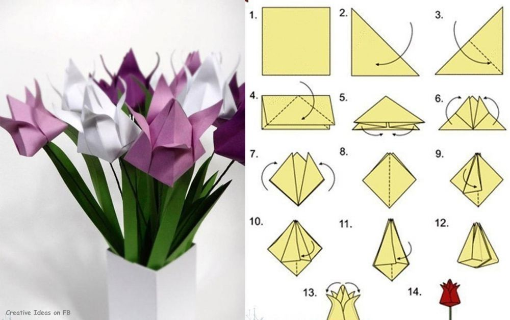 Diy origami tulip crafts tutorials blog ideas for crafts diy origami tulip crafts tutorials blog ideas for crafts mightylinksfo