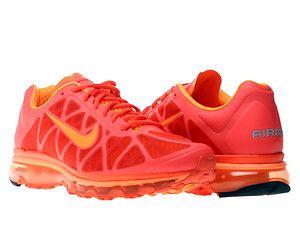 3e68f0af79b2 Nike Air Max+ 2011 Max Orange Total Orange Mens Running Shoes 429889 ...