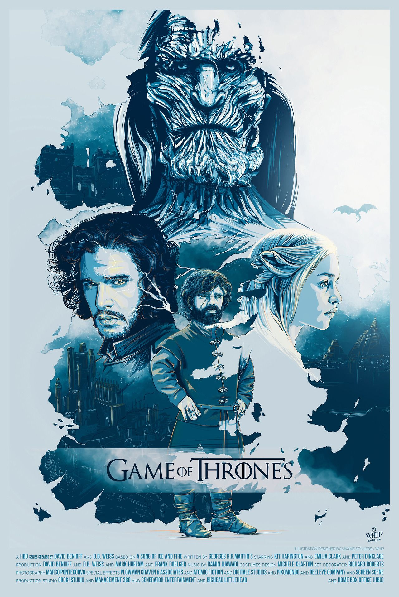 Game Of Thrones Poster Created By Whip Game Of Thrones Poster Watch Game Of Thrones Game Of Thrones Art