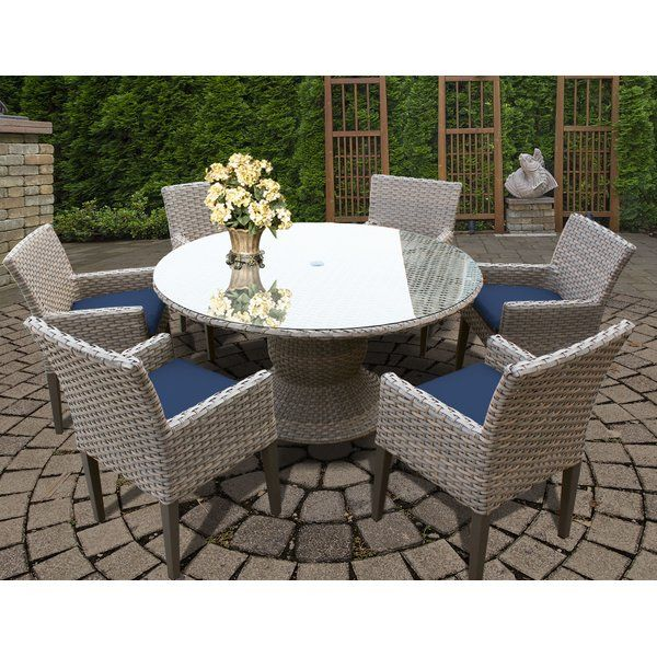 Outdoor Entertaining Is Stylish And Easy With Oasis 7 Piece Dining