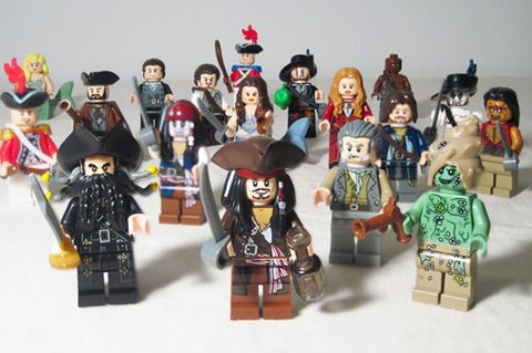 That is genuinely the biggest collection of Lego Pirates Of
