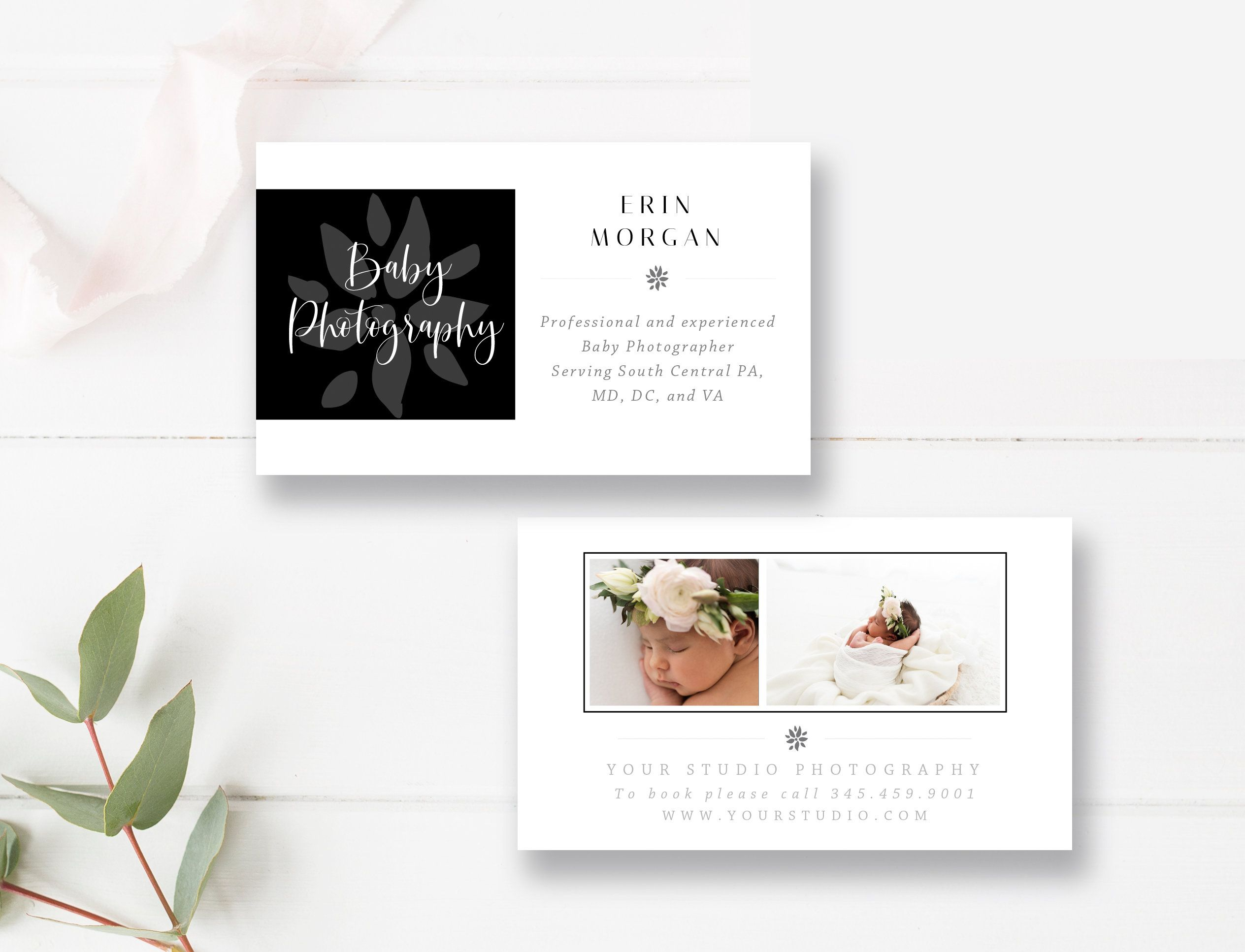 Instant Download Photography Business Card Template Psd Etsy In 2021 Photography Business Cards Template Photography Business Cards Photo Marketing Templates