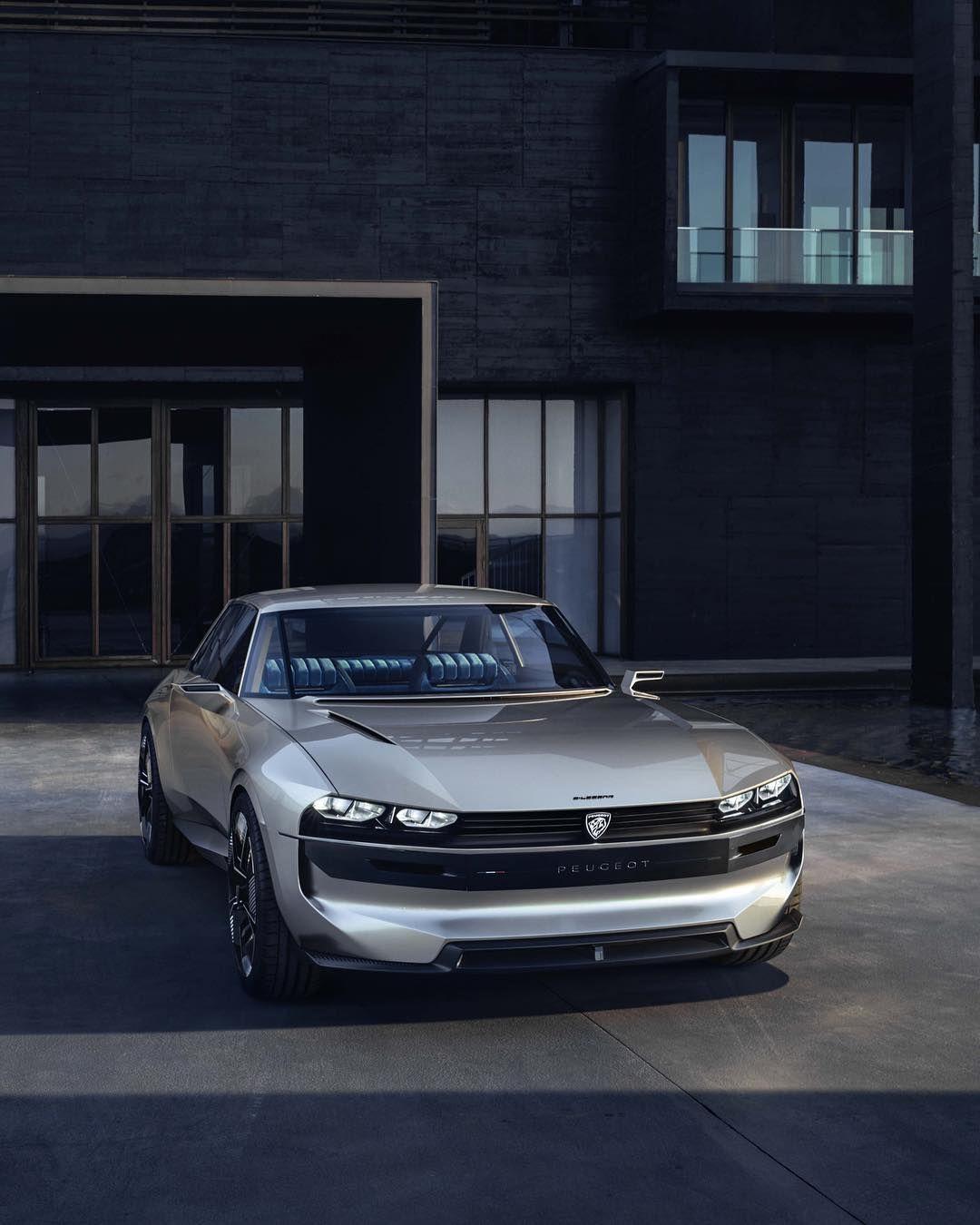 Motor Trend On Instagram The Peugeot E Legend Concept Debuting At